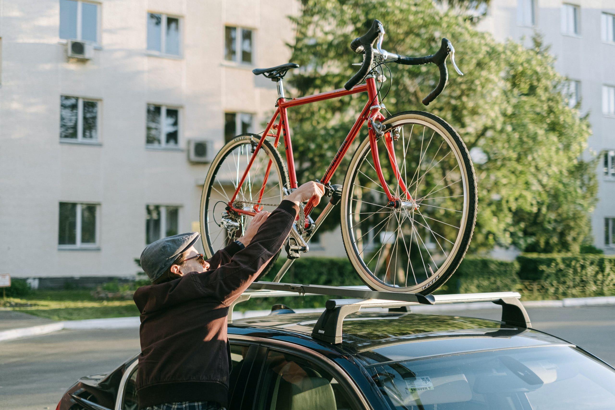 Porte-vélo de voiture