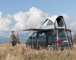 Test et avis sur la tente de toit pour utilitaire Quechua 500 Fresh & Black